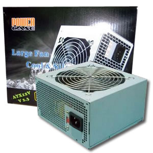 POWERCASE 550 Watt ATX Power Supply with 12cm Fan
