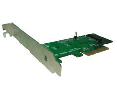 CONDOR M2 NVMe / AHCI mode SSD to PCIe x4 Adaptor Bracket