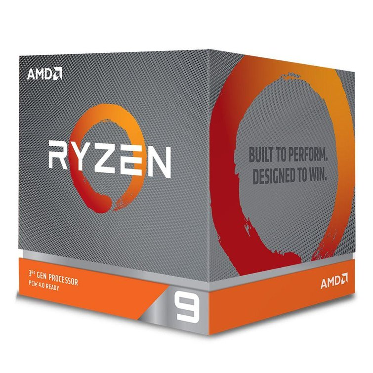 AMD Ryzen 9 3900X, 12 Core AM4 CPU, 3.8GHz 4MB 105W w/Wraith Prism Cooler Fan (discrete graphics required)