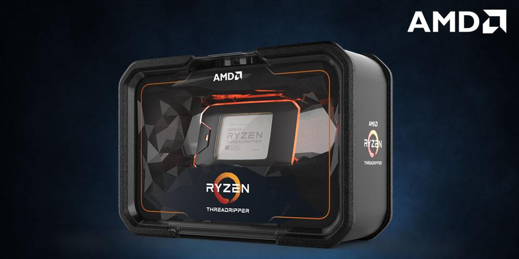 AMD Ryzen Threadripper 2970WX CPU 24 Core/48 Threads Unlocked Ma