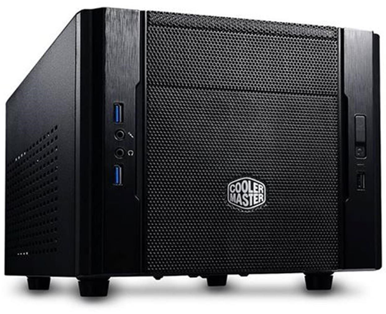 Cooler Master Elite 130 Black mITX Case - NO PSU