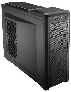 Corsair Carbide 400R Black Mid-Tower Case, No PSU