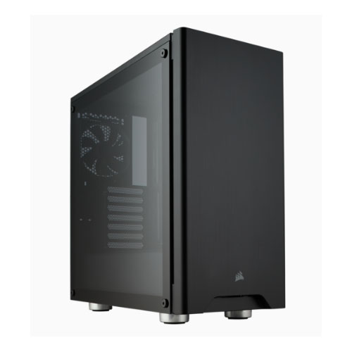 Corsair Carbide Series 275R Airflow ATX Tempered Glass Black, Top Panel USB 3.0 x 2, Audio I/O.