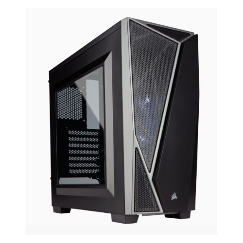 Corsair Carbide SPEC-04 Mid-Tower Gaming Case, Black & Grey, No