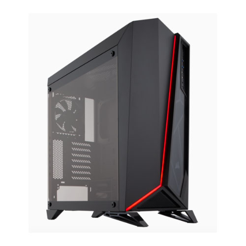 Corsair Carbide SPEC-OMEGA Mid-Tower Tempered Glass Gaming Case,