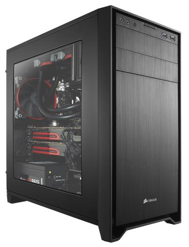 Corsair Obsidian 350D Black mATX Case, Front USB3.0 & Audio, Ste