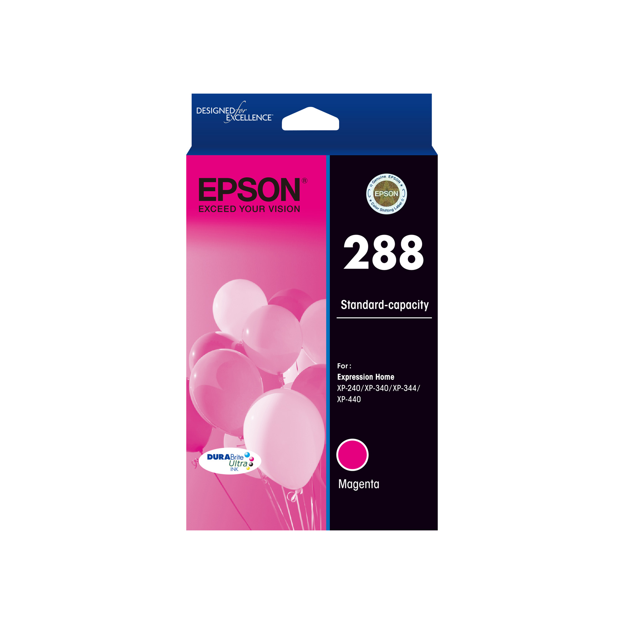 EPSON 288 MAGENTA INK EPSON EXPRESSION HOME XP240, XP340, XP344