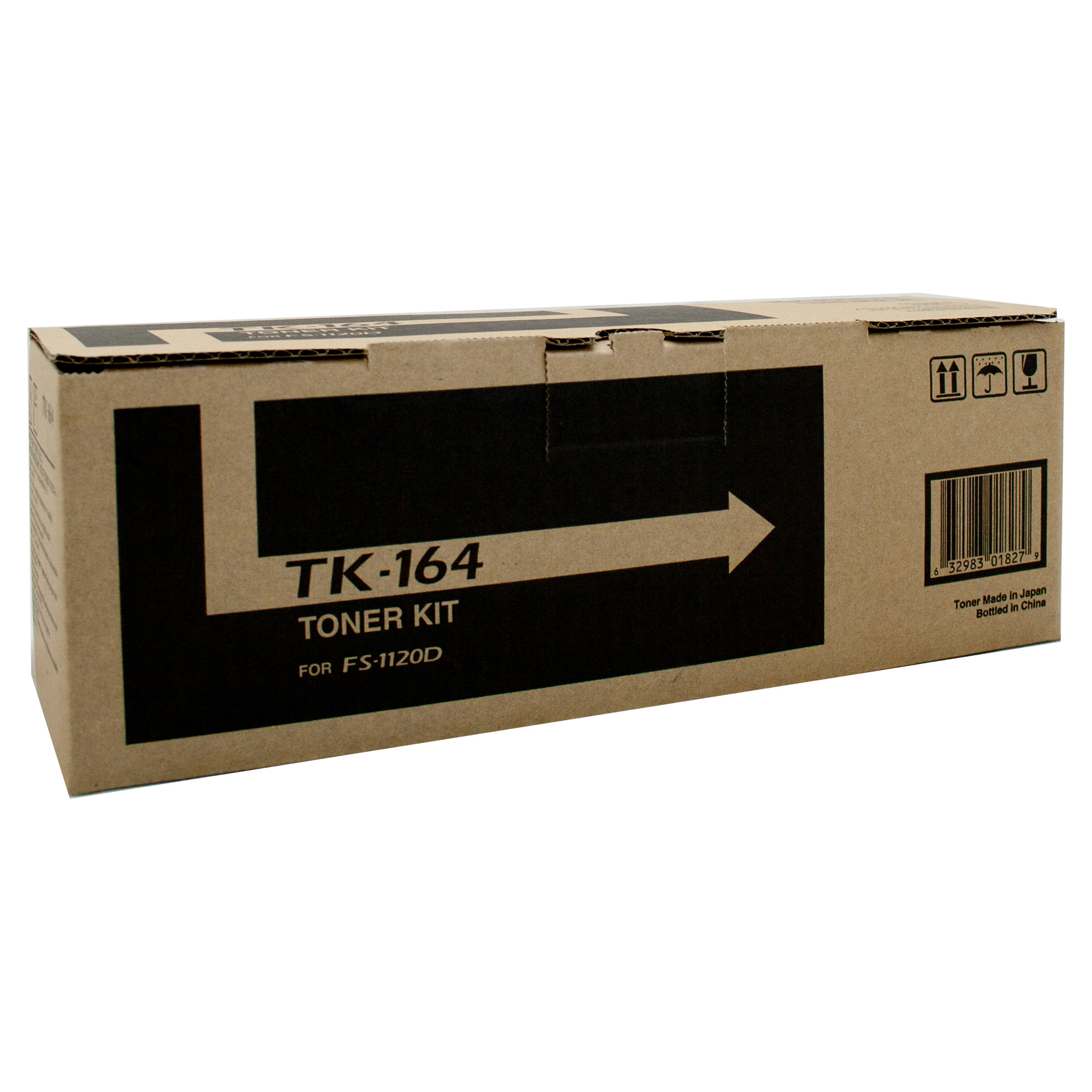 KYOCERA TK-164 Black Laser Toner Cartridge