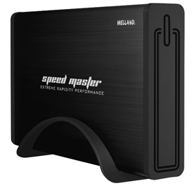 "WELLAND Speed Master ME-746E - 3.5"" SATA 6Gb/s to USB3.0 Enclos"