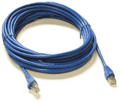 Network Crossover RJ45 Cable 10 Metre CAT5 Enhanced Stranded