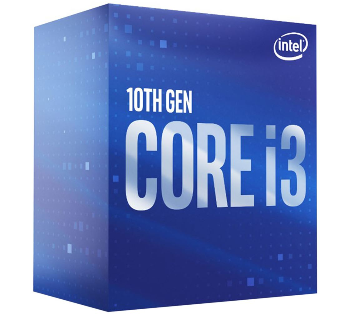 Intel Core i3-10100 CPU 3.6GHz (4.3GHz Turbo) LGA1200 10th Gen 4-Cores 8-Threads 6MB 65W UHD Graphic 630 Retail Box 3yrs