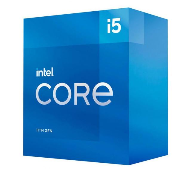 INTEL CORE i5 11600 Processor (Rocket Lake)- 2.8GHz (4.8GHz Turbo) LGA1200 11th Gen 6-Cores 12-Threads 12MB 65W UHD Graphic 750