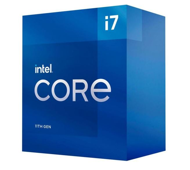 INTEL CORE i7 11700 Processor (Rocket Lake)- 2.5GHz (4.9GHz Turbo) LGA1200 11th Gen 8-Cores 16-Threads 16MB 65W UHD Graphic 750