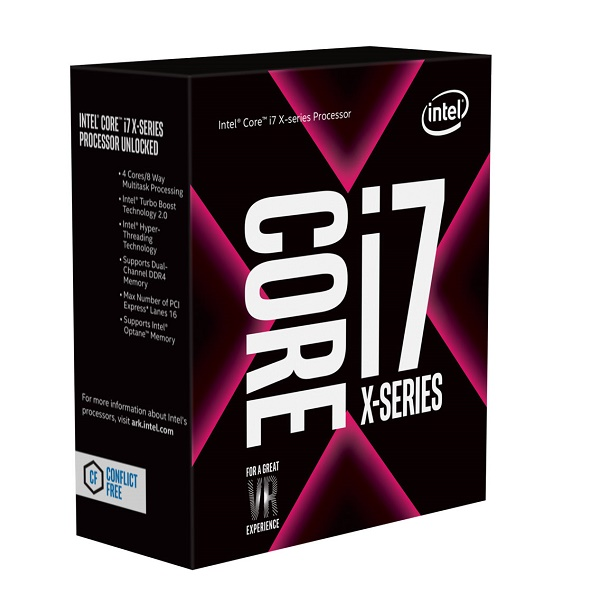 INTEL Core i7-7740X X-series Processor (8M Cache, up to 4.50 GHz