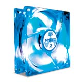 ANTEC Tri Cool 80mm 3 Speed Case Fan -BLUE LED -