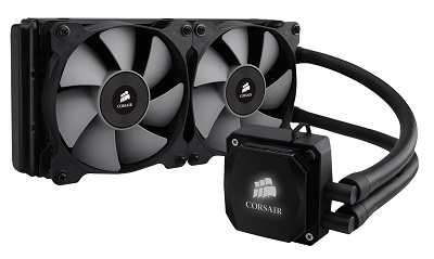 Corsair Hydro Series H100i Liquid Cooler - Supports All Current
