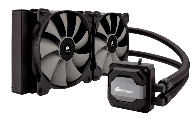 Corsair Hydro Series H110i 280mm Liquid Cooler - Supports All Cu