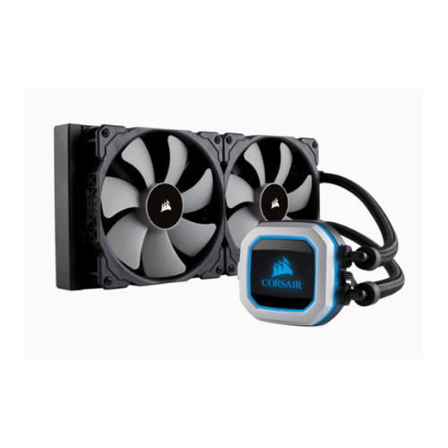 Corsair H115i PRO RGB 280mm Radiator. 2x 140mm ML Fan Support Co