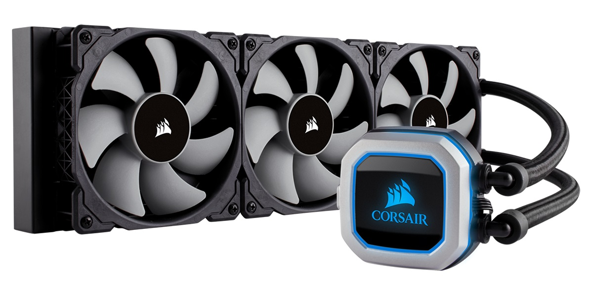 Corsair Hydro Series H150i 360mm Liquid Cooler - Supports All Cu