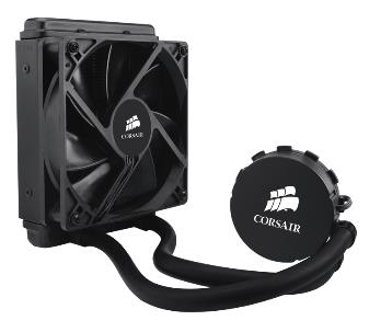 Corsair H55 120mm Liquid CPU Cooler Skylake Compatible 1x12CM Fa