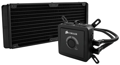 Corsair Cooling Hydro Series H100 High-Performance CPU Cooler, 2