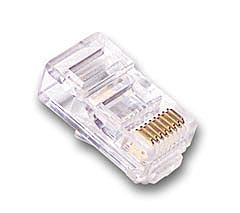 RJ45 CAT 6 Male Connectors