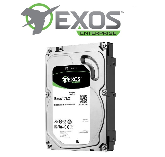"Seagate Enterprise Exos 7E2 HDD 512N SATA 3.5"" 1TB 7200RPM 128MB"