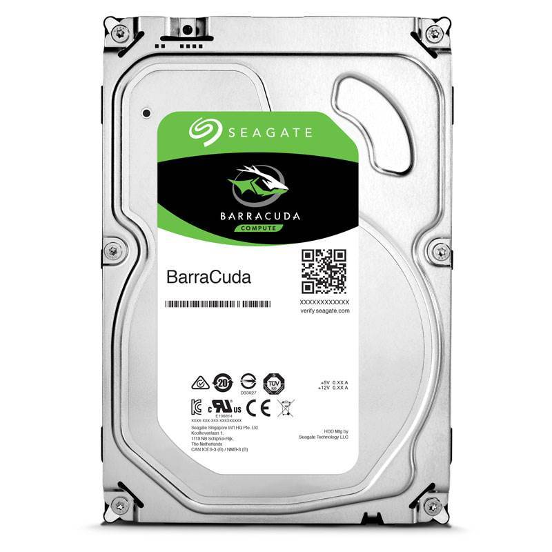 Seagate Barracuda 3TB - SATA3 6Gb/s - 5400RPM - 32MB Cache - 1 Y