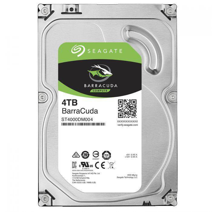 "Seagate 4TB Barracuda 3.5"" HDD 5900RPM SATA3 6Gb/s 256MB Cache H"