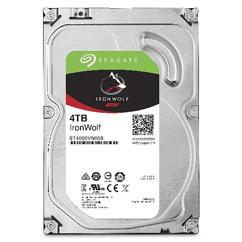 "IronWolf NAS HDD 3.5"" 4TB SATA 5900RPM 64MB CACHE"