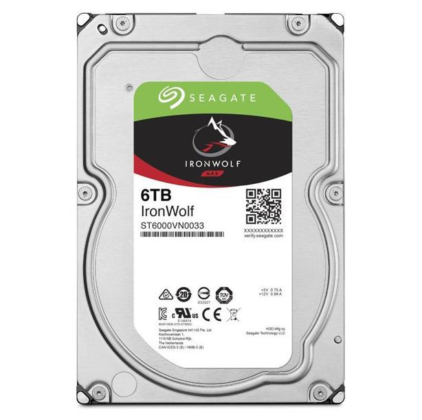 "IronWolf NAS HDD 3.5"" 6TB SATA 5900RPM 256MB CACHE"