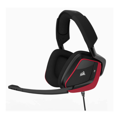 Corsair VOID PRO RED Wired Surround Premium Gaming Headset with