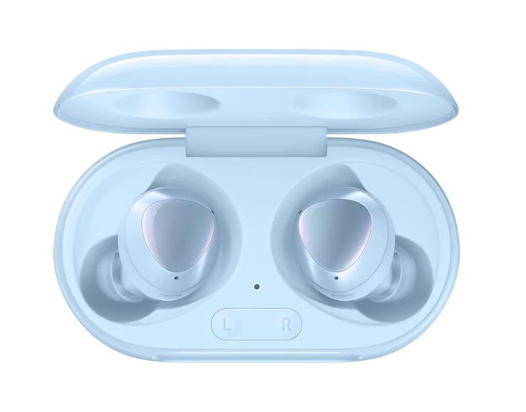 Samsung Galaxy Buds+ Blue - Bluetooth v5.0 (LE up to 2Mbps), Compatible - Android 5.0 or later , 1.5GB/ iPhone 7, iOS 10