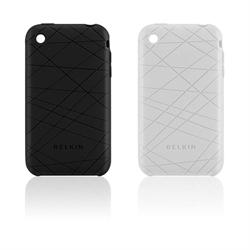 BELKIN F8Z472-BKC- iPhone Cover Grip Vector 2 Pack - Laser Etche