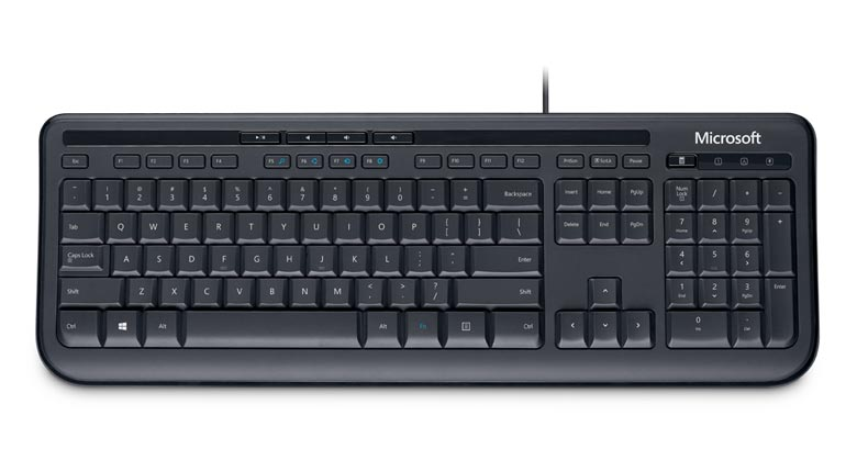 MICROSOFT Desktop 600 Black USB Keyboard
