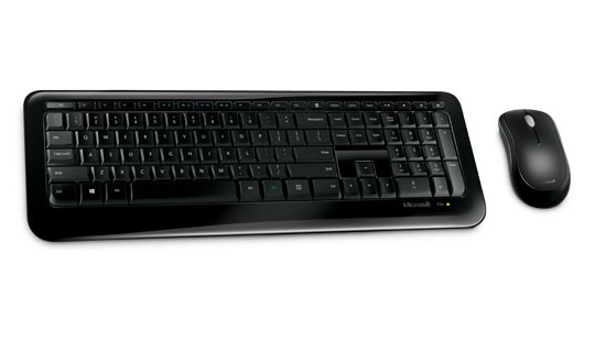 MICROSOFT Wireless 850 Desktop Set - keyboard and mouse with AES