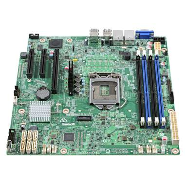 INTEL DBS1200SPS Server Motherboard - C232 single socket 1151 ,
