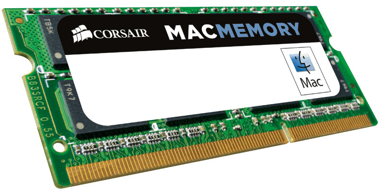 Corsair 4GB (1x4GB) DDR3 SODIMM 1333MHz 1.5V Memory for MAC Memo