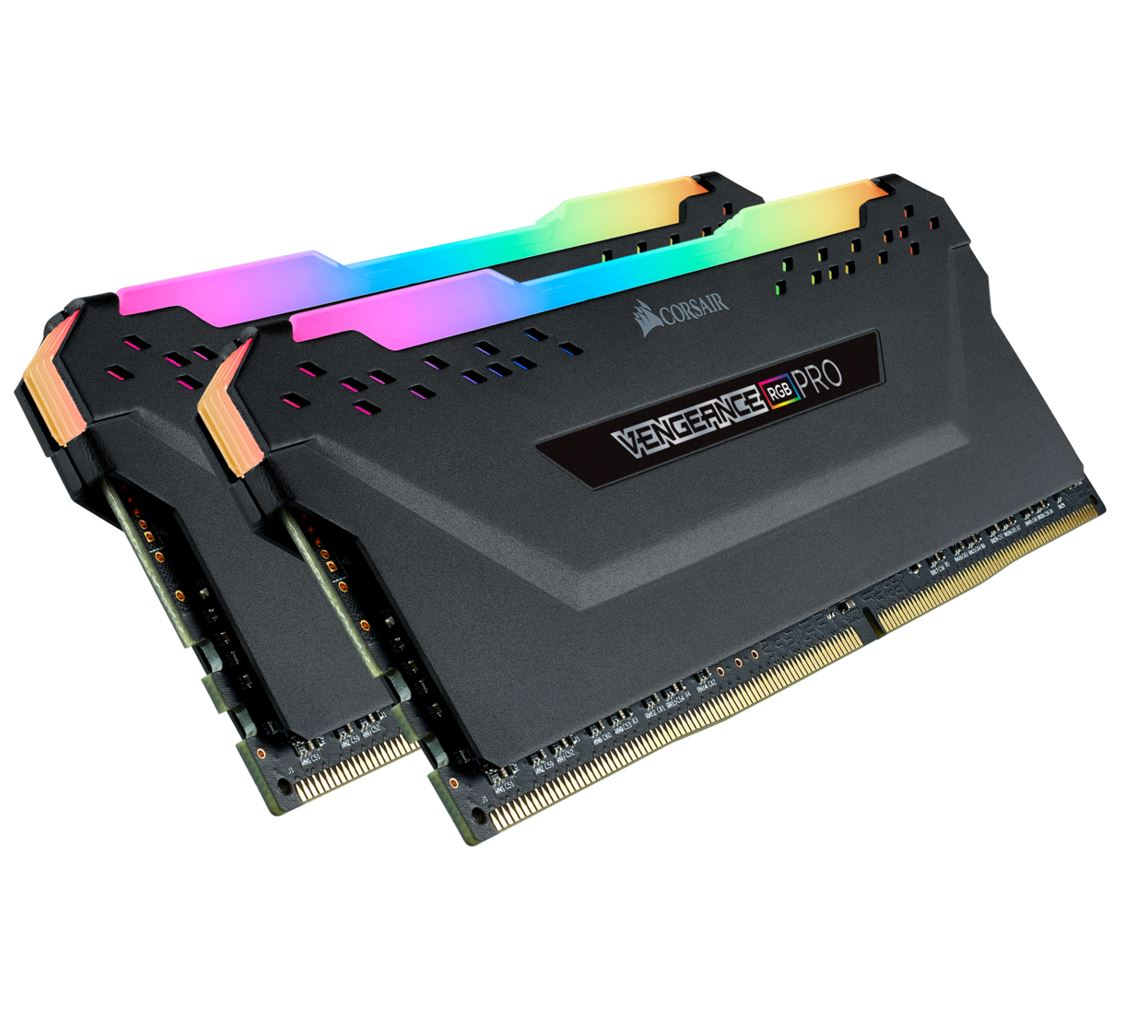 Corsair Vengeance RGB PRO 16GB (2x8GB) DDR4 4000MHz C18 Desktop Gaming Memory