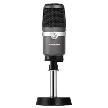 AVerMedia AM310 USB Microphone for Studio Quality Sound, Live St