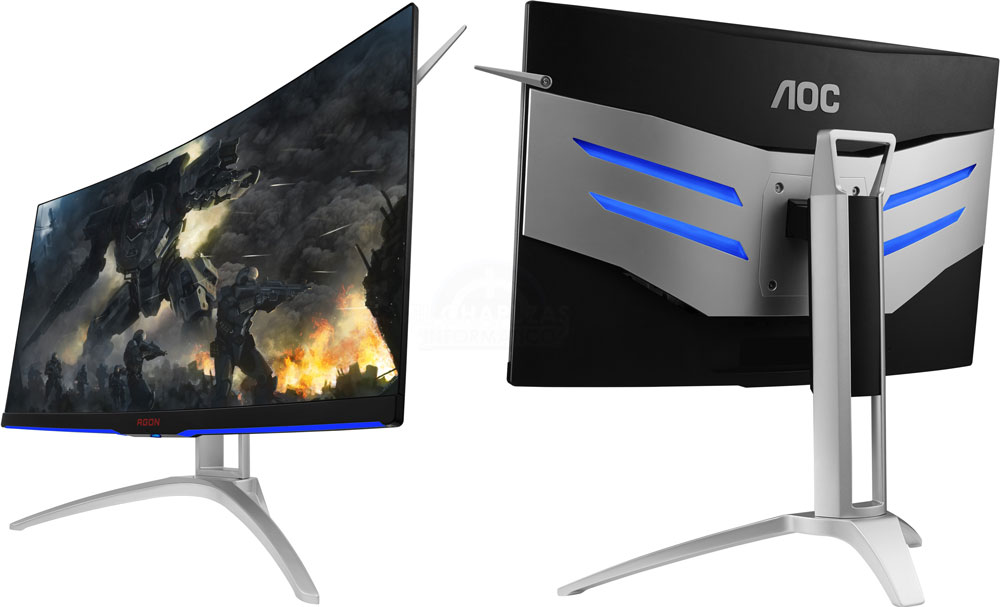 "AOC AGON 31.5"" VA IPS-Type 4ms 144Hz 2560x1440 Ultra-Thin FreeSy"