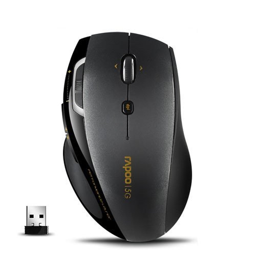 RAPOO 7800 Wireless Optical Mouse - 5Ghz (large handed mouse)
