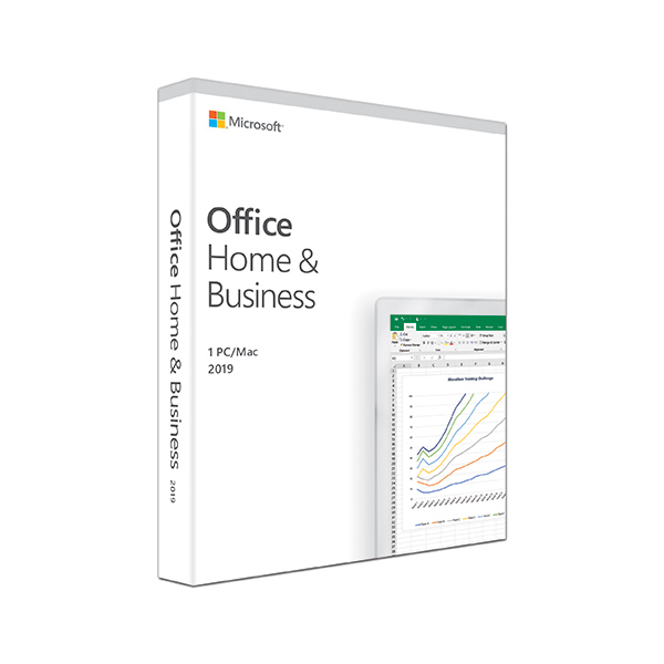 MICROSOFT Office 2019 Home & Business Medialess (No DVD) - non s