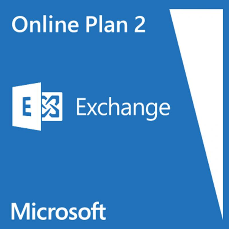 Exchange Online (Plan 2) - 100 GB Mailbox - Unlimited Archive - 1 Year