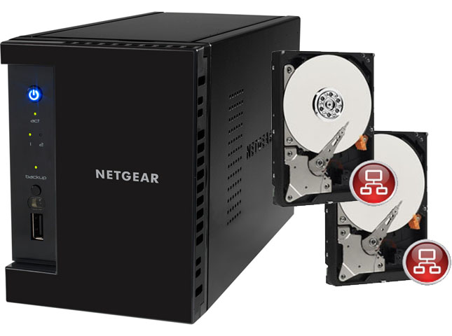 Navada, Netgear ReadyNas Network Attached Storage (NAS) Solution