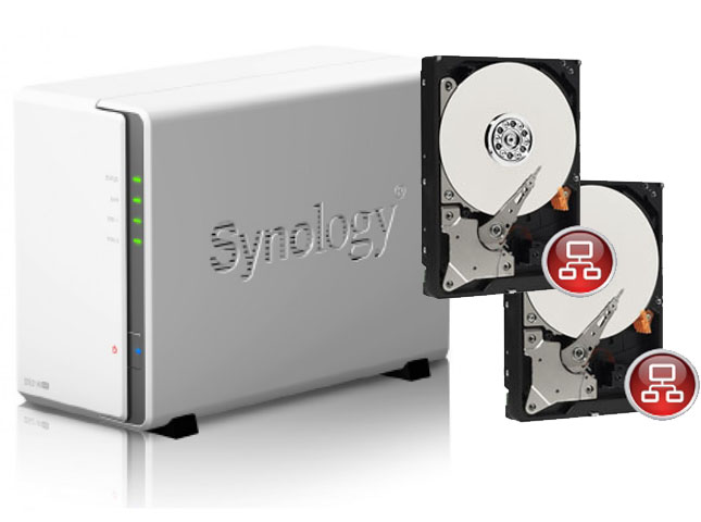 Navada, Synology Network Attached Storage (NAS) Solution (2 X 2T