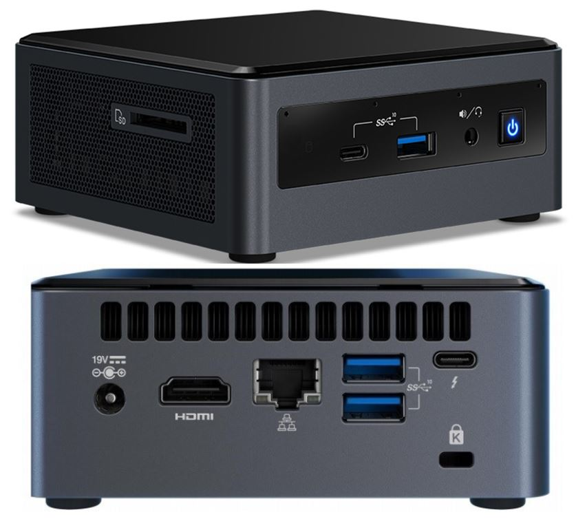 Intel NUC, i5-10210U 8GB RAM, 512GB M.2 SSD, Windows 10 HOME
