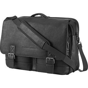 "HP 15.6"" Executive Leather Laptop Messanger Bag"