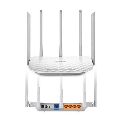 TP-Link Archer C60 AC1350 1350Mbps Wireless Dual Band Router 867
