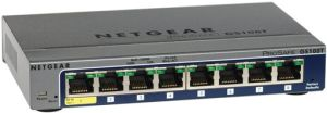 NETGEAR GS108T-200 8-port Full Duplex Gigabit Smart Switch